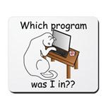 Which Program? Mousepad