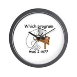 Which Program? Wall Clock