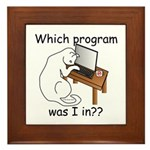 Which Program? Framed Tile