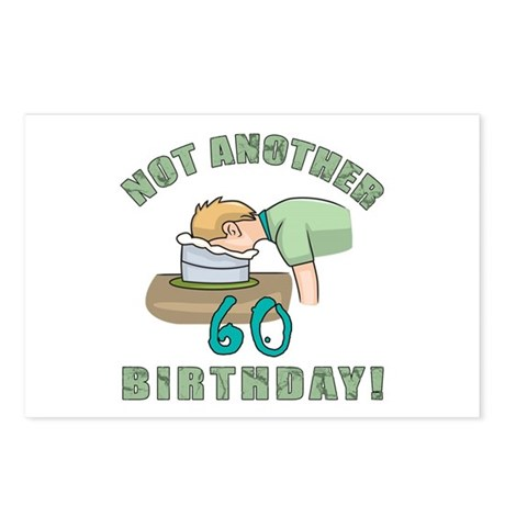 Not Another 60th Birthday! Postcards (Package of 8