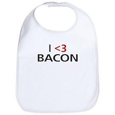 I <3 Bacon Bib