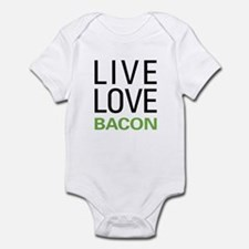 Live Love Bacon Infant Bodysuit