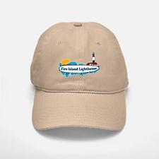 Fire Island Lighthouse Baseball Baseball Cap
