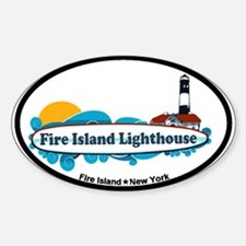 Fire Island Lighthouse Decal