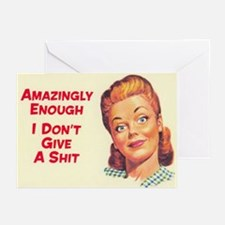 Amazingly Enough Greeting Cards