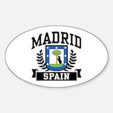 Madrid Spain Decal