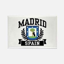 Madrid Spain Rectangle Magnet
