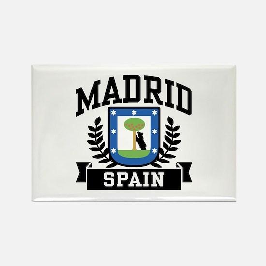Madrid Spain Rectangle Magnet