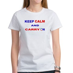KEEP CALM AND CARRY ON Tee