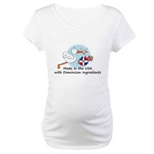Stork Baby Dominican Rep. USA Shirt