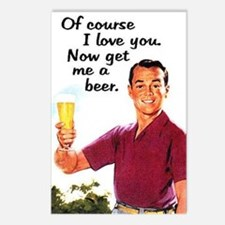 Get Me a Beer Postcards (Package of 8)