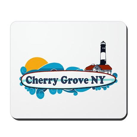 Cherry Grove - Fire Island Mousepad