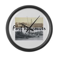 ABH Fort Vancouver Large Wall Clock
