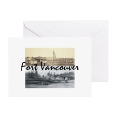 ABH Fort Vancouver Greeting Card