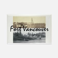 ABH Fort Vancouver Rectangle Magnet