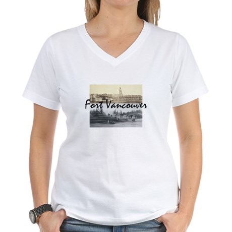 ABH Fort Vancouver Women's V-Neck T-Shirt
