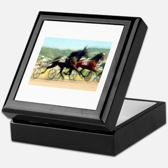 Harness horse racing trotter present gift idea Kee