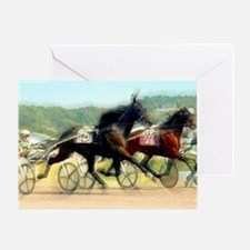 Harness horse racing trotter present gift idea Gre