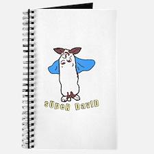Cute Super bunny Journal