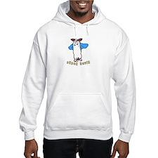 Funny Super bunny Hoodie