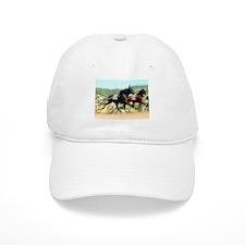Harness horse racing trotter present gift idea Baseball Cap
