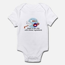 Stork Baby Cambodia USA Infant Bodysuit