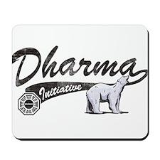 LOST Dharma Initiative Polar Bears Mousepad