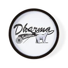LOST Dharma Initiative Polar Bears Wall Clock