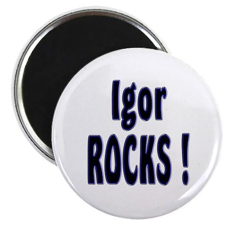 Igor Rocks ! Magnet