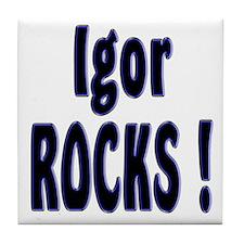 Igor Rocks ! Tile Coaster