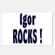 Igor Rocks ! Postcards (Package of 8)