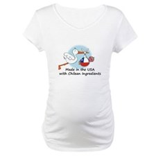 Stork Baby Chile USA Shirt