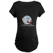 Stork Baby Chile USA T-Shirt