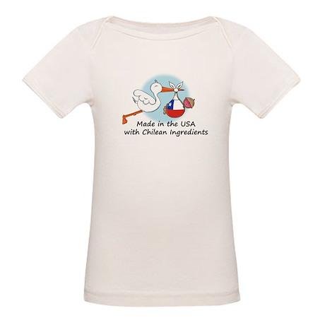 Stork Baby Chile USA Organic Baby T-Shirt