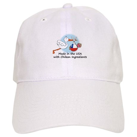 Stork Baby Chile USA Cap