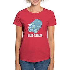 East Anglia Map Tee