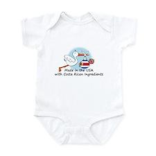 Stork Baby Costa Rica USA Infant Bodysuit