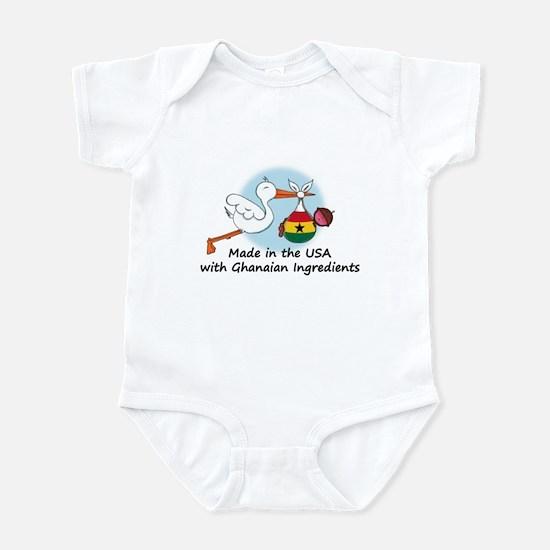 Stork Baby Ghana USA Infant Bodysuit