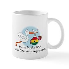 Stork Baby Ghana USA Mug