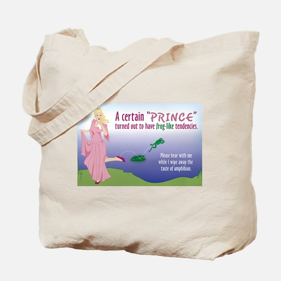 Prince was a Frog Tote Bag