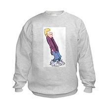 Eyeroll Jeremy Kids Sweatshirt