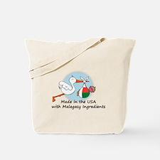 Stork Baby Madagascar USA Tote Bag