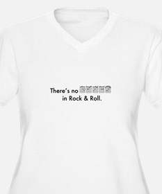 There's No Decaf in Rock & Roll T-Shirt