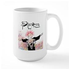 Pierce! Large Mug