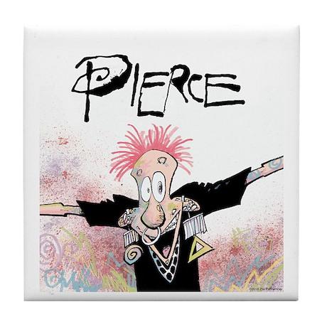 Pierce! Tile Coaster
