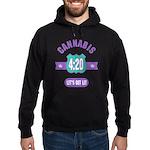 Cannabis 420 Hoodie (dark)
