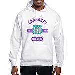 Cannabis 420 Hooded Sweatshirt