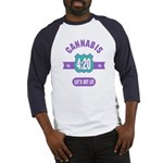 Cannabis 420 Baseball Jersey