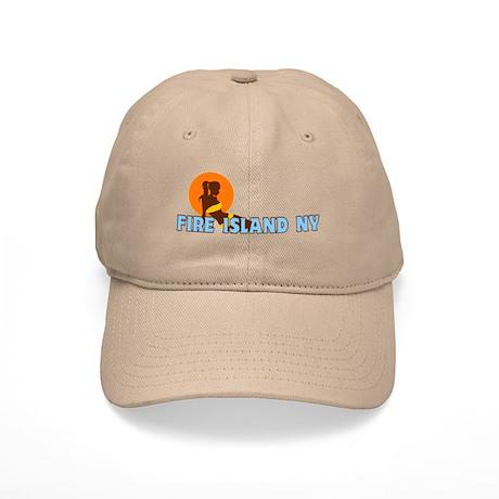 Fire Island - Sunbathing Design Cap