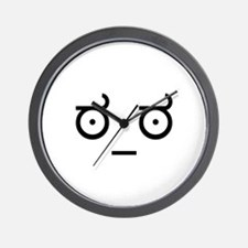 Disapproval Wall Clock